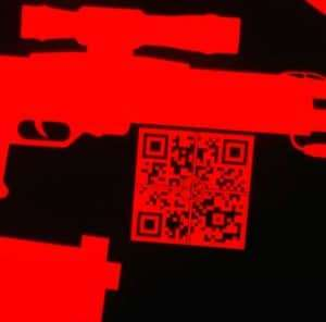 The QR Code allows consumers to take a photo of it with their smart phone and be directed to a Web site
