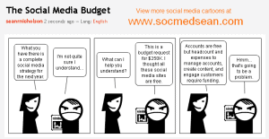 The unfortunately reality of how social media budget planning goes