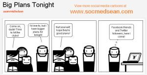 Social Media Introvert Comic