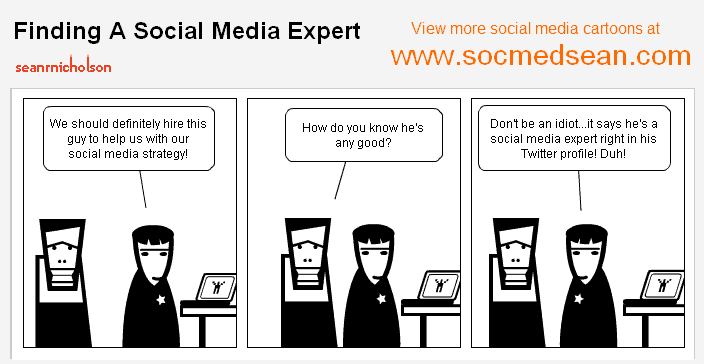 Finding A Social Media Expert isn't always easy
