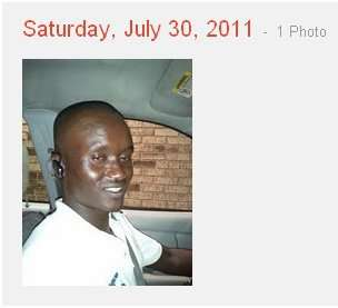 The second photo published to my Google+ stream from my stolen phone is of the cab driver