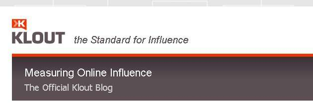 Klout proclaims to measure social media influence, yet then also says that they don't