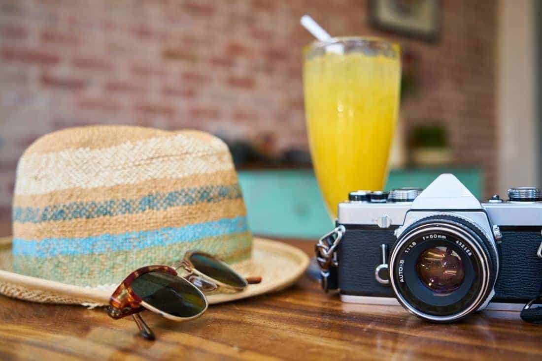 Bringing your camera on vacation can help you resist the temptation to look at your phone and check your social media channels