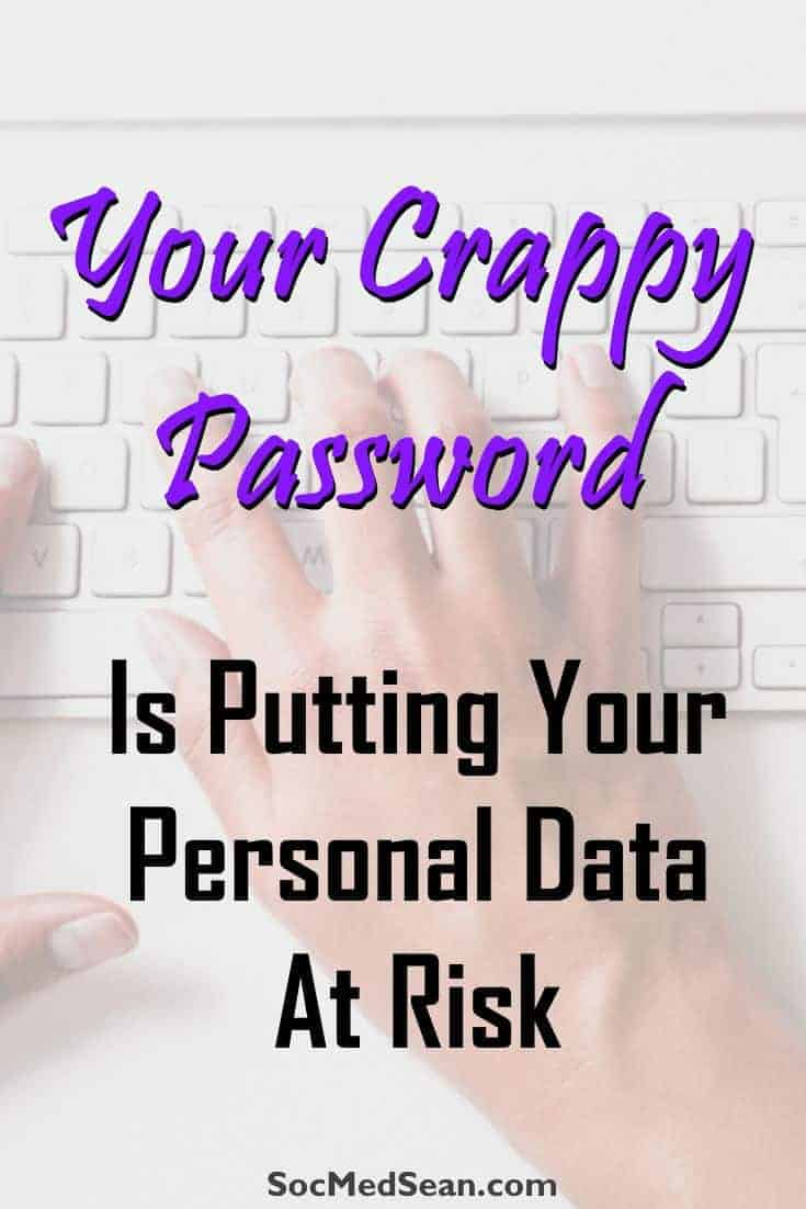 A weak password can put your blog, social media profiles, and personal data at risk