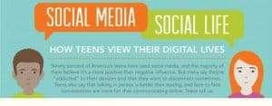 [INFOGRAPHIC] Do Teens Prefer Social Media To Real Life?