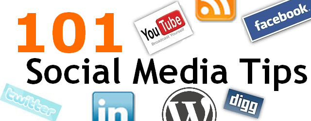 Check out my brain dump of more than 101 social media tips and best practices