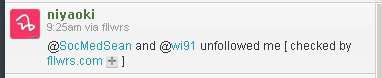 Yes, I unfollowed you on Twitter. Maybe you suck!