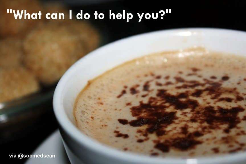 What can you do to help someone else out today?