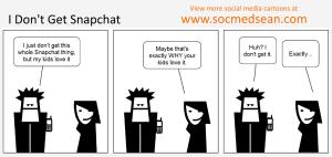 Social Media Comic: I Don't Get Snapchat