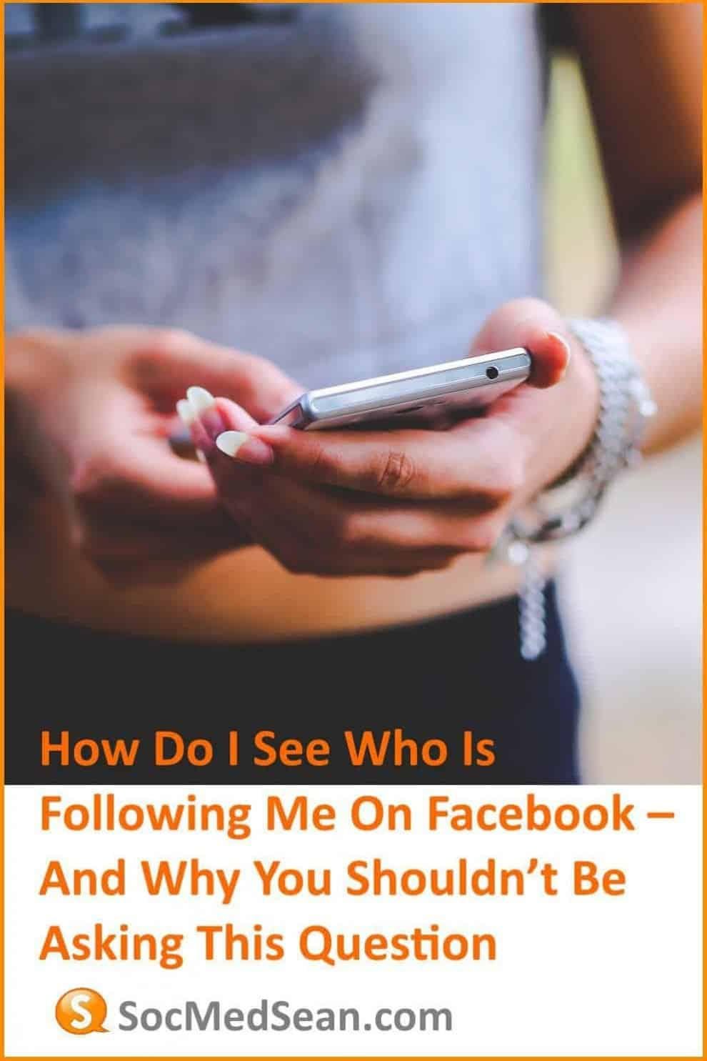 How do I see all my Facebook followers?
