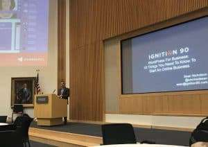 SocMedSean Presenting at WordCamp Kansas City 2018 - Sean R Nicholson