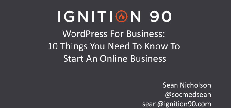 WordPress For Business: 10 Things You Need To Know To Start An Online Business