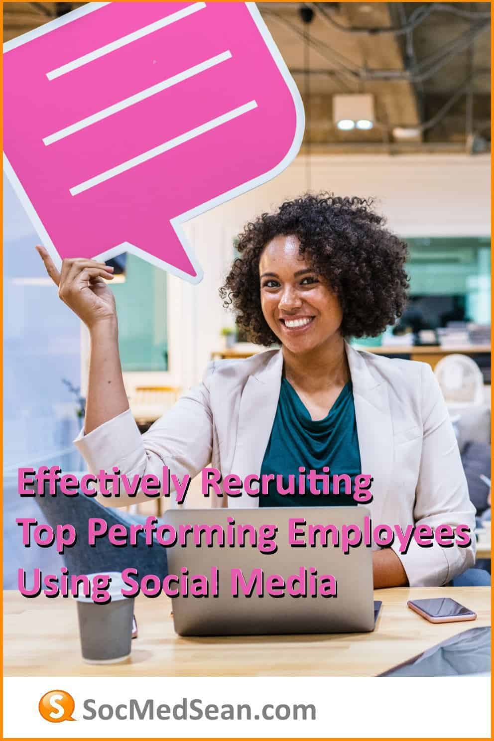 Effectively recruiting new employees using social media campaigns