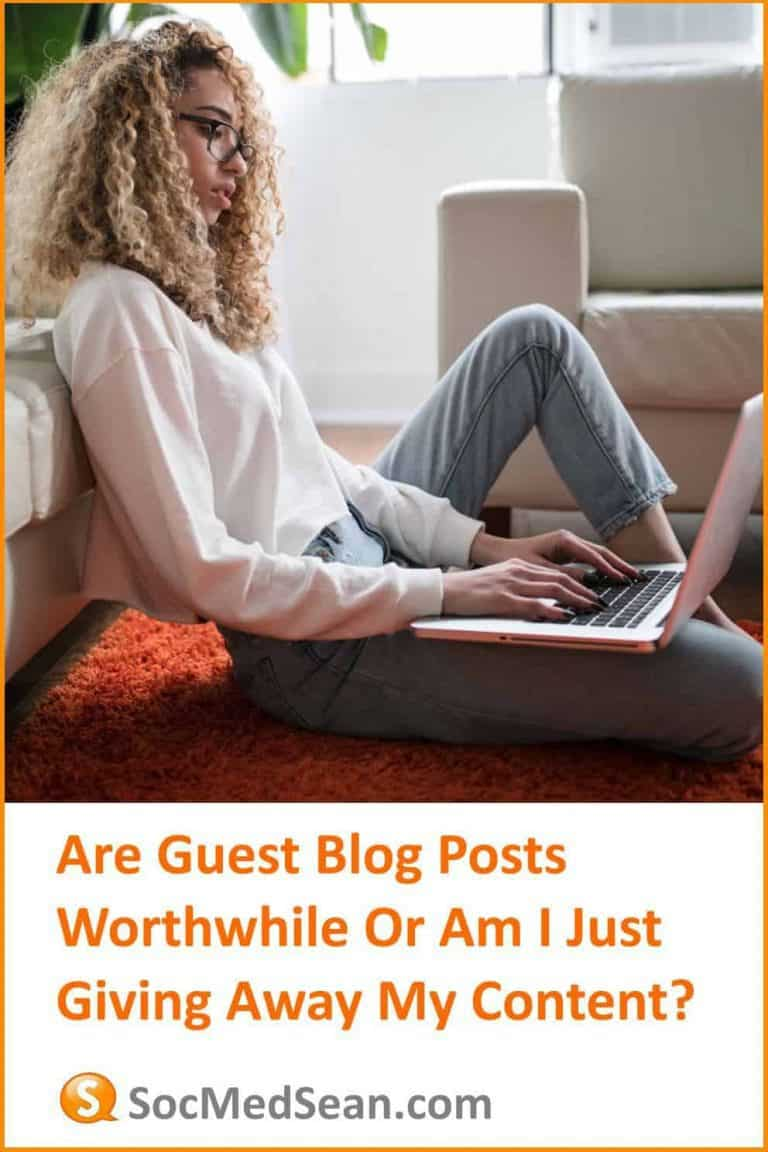 Are guest blog posts a worthwhile activiity for link building?