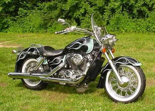 My 1996 Honda Shadow Ace Custom Motorcycle Socmedsean Social