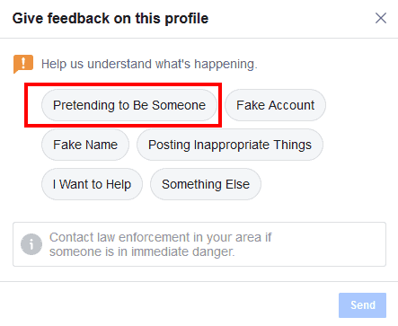 ANSWERED] How Do I Spot And Report A Fake Facebook Friend Request
