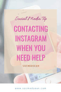Ways to contact Instagram when you need support