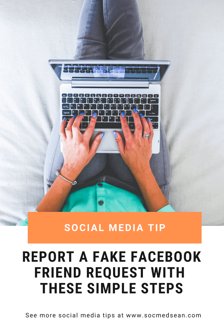 Learn how to report a fake Facebook friend request, a hacked Facebook account, or a Facebook scammer