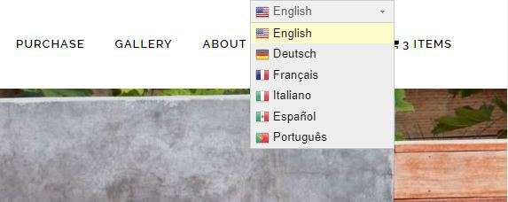 The GTranslate plugin allows you to easily convert all of your site content to other languages