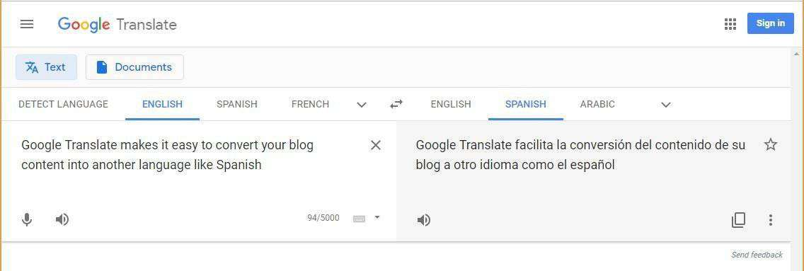 Take me to google translate-4836