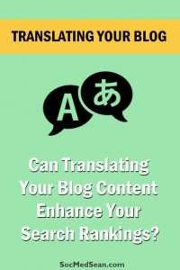 Translating your blog posts into another language can have positive impacts, but there are a variety of options to choose from.