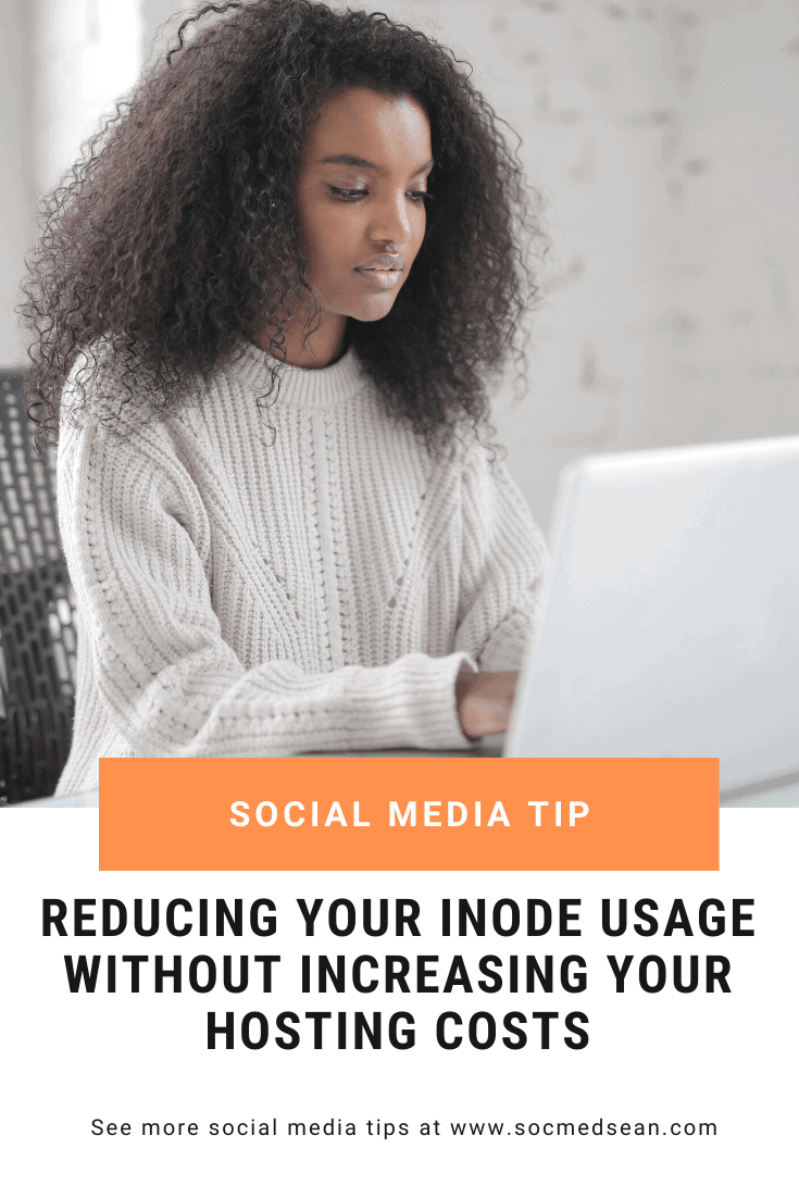 Tips for reducing your inode usage on hosts like Siteground and Hostgator without increasing your hosting costs