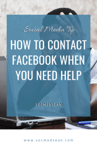 Step-by-step guide to contacting Facebook support when you need assistance