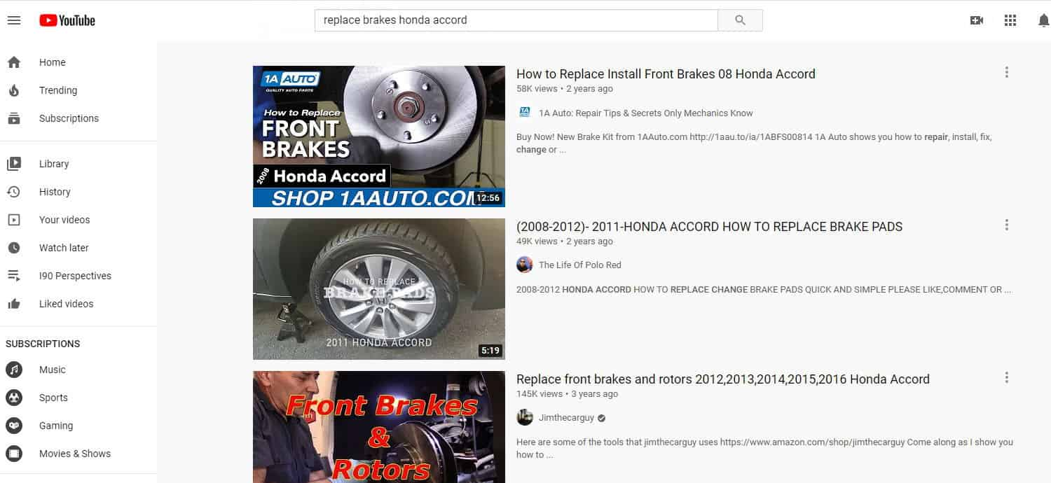 Be aware that search engine optimization applies to YouTube videos, as well