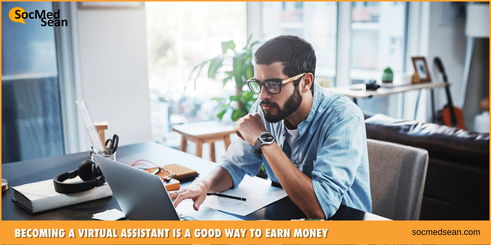 Becoming a virtual assistant is a good way to earn money