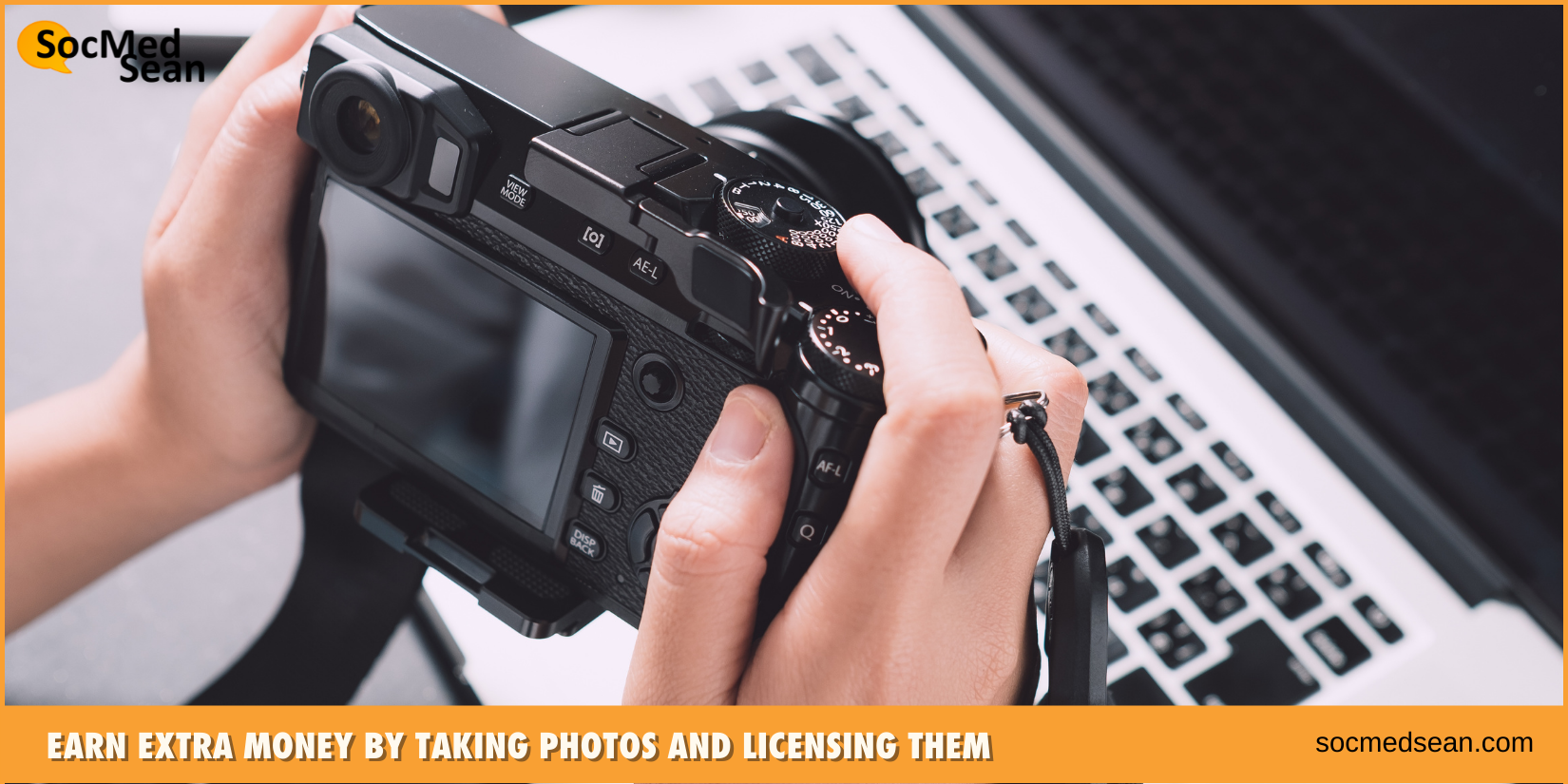 earn extra money by taking photos and licensing them