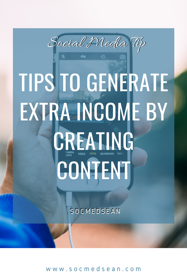 Tips to earn extra money creating digital content