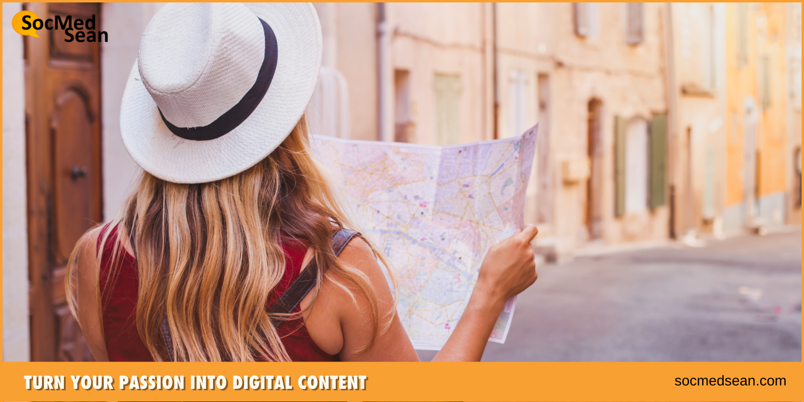 Turn your Passion into Digital Content