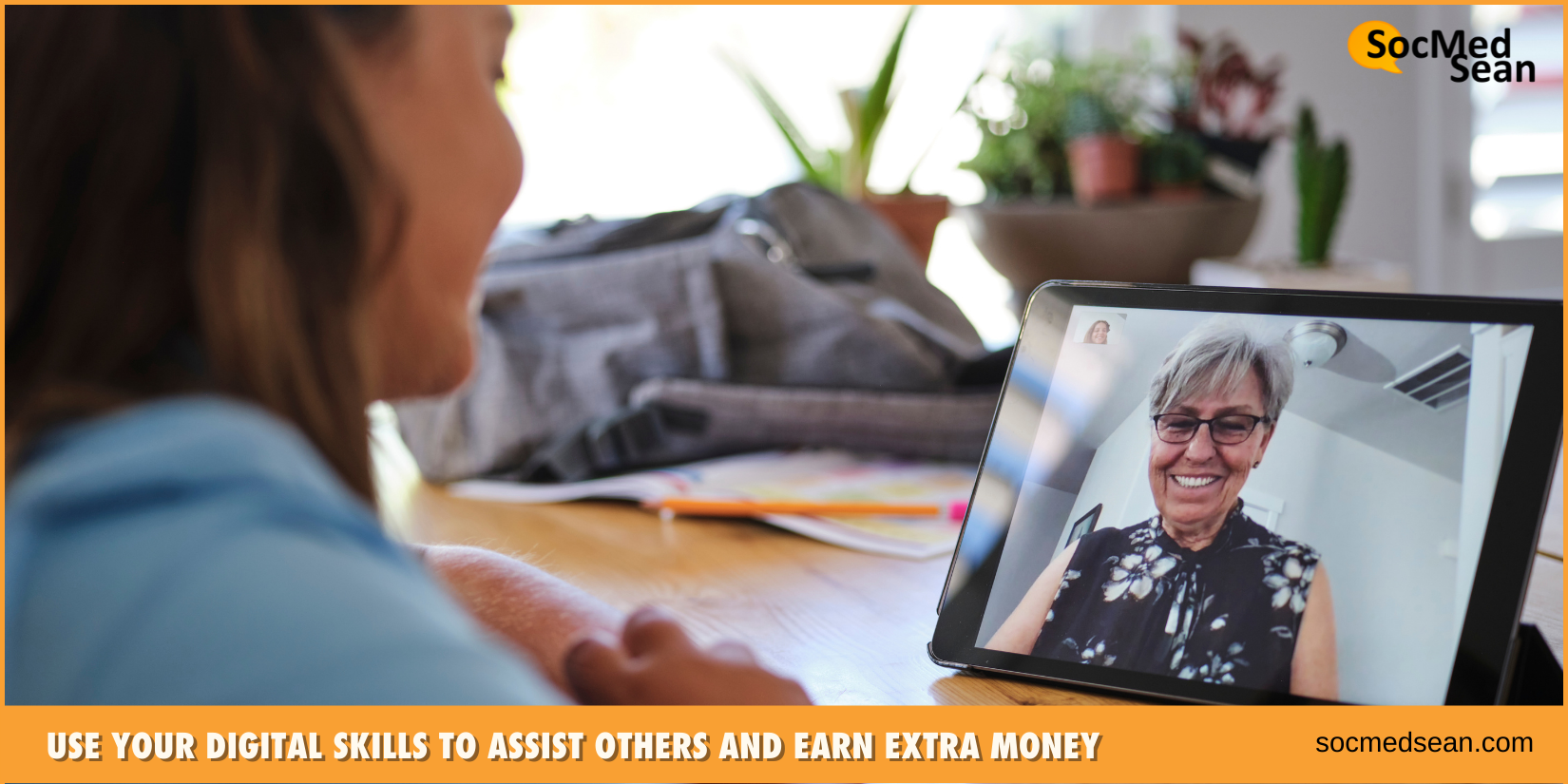 Use your digital skills to assist others and earn extra money